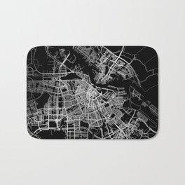 Amsterdam map Bath Mat
