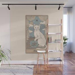 Pisces Cat Wall Mural
