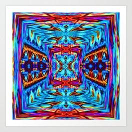 Pattern-285 Art Print