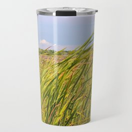 Lighthouse in the Distance Travel Mug