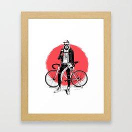 Cool Death Framed Art Print