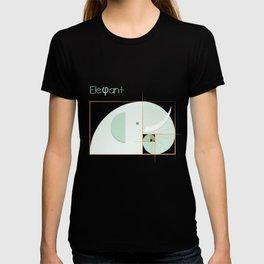 Fibonacci elephant T-shirt