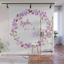 """Lydia, you go with Stiles"" - Stydia 3x11 Wall Mural"