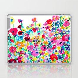 Flower Fields Pink Laptop & iPad Skin