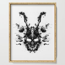 Frank (Donnie Darko). Ink Blot Painting Serving Tray