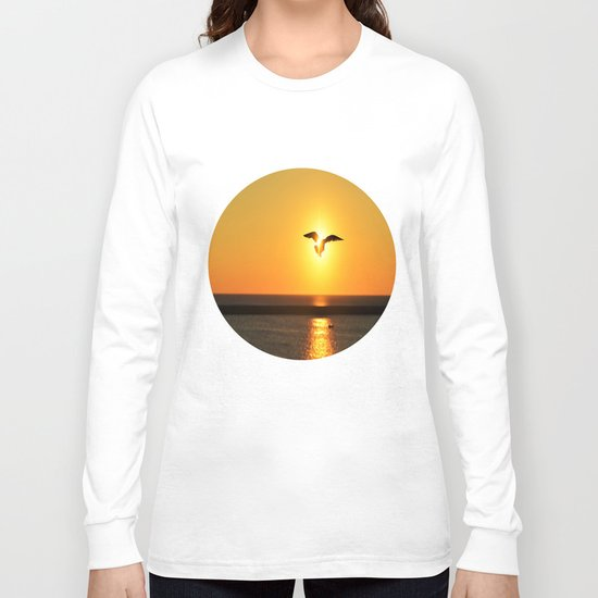 Icarus Vacationing in San Diego, California  Long Sleeve T-shirt