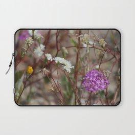 Desert Wildflowers at Coachella Wildlife Preserve Laptop Sleeve