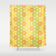 Zesty Slice Shower Curtain
