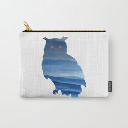 Watercolor owl art Carry-All Pouch