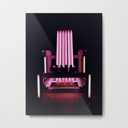Electric Chair - Part III. Metal Print