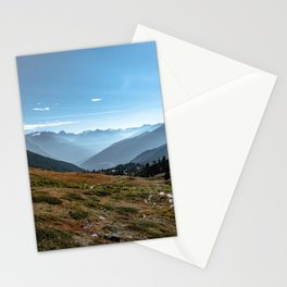 Picture of a journey to the Dolomites II | A journey through the Dolomites, Italy Stationery Cards