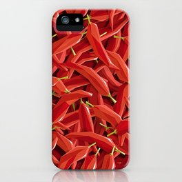 Too many Chillies iPhone Case
