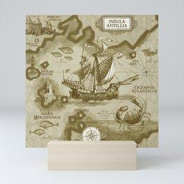 Insula Antillia Mini Art Print