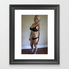 Zhanna in L.A Framed Art Print