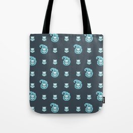 Will-o'-the-wisp pattern Tote Bag