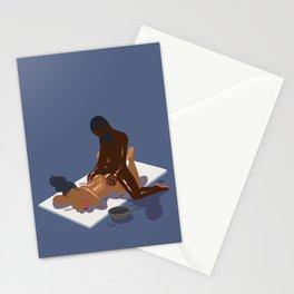 vamo de massagem? Stationery Cards