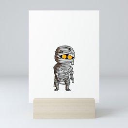 This Is My Human Costume I'm Really A Mummy Funny Halloween Mini Art Print