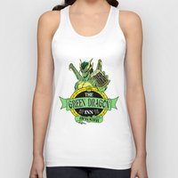 lotr Tank Tops featuring LOTR - The Green Dragon Inn - Bywater by Immortalized