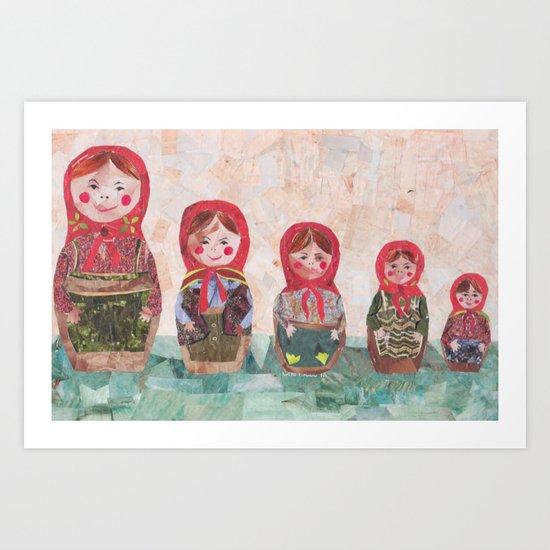 Emma Art Print