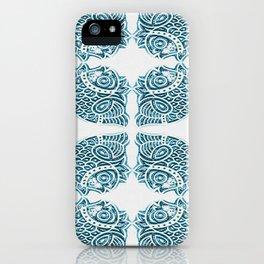 Bluefish Fish India Block Print Boho iPhone Case