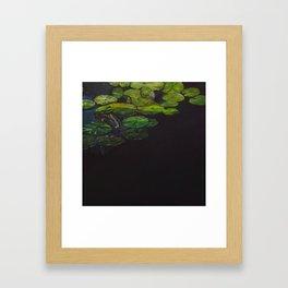 Water meditation III Framed Art Print