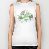 "pixar Biker Tanks featuring ""Adventure is Out There!"" - Up, Pixar by astoldbycaro"