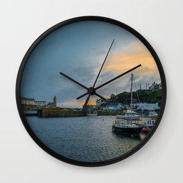 Porthleven Twylight Wall Clock