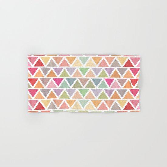 Lovely geometric Pattern III Hand & Bath Towel