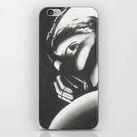 bane iPhone & iPod Skins featuring Bane by Jimmy chard