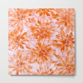 The Smell of Spring 3 / Monochrome / Apricot Metal Print