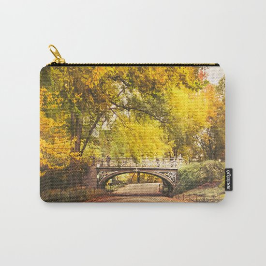 Autumn Path - Central Park - New York City Carry-All Pouch