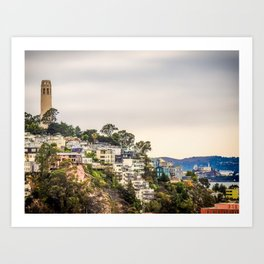 Telegraph Hill Art Print