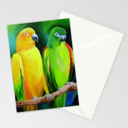 Parrots Australia Stationery Cards