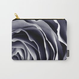 Purple Rose Macro Carry-All Pouch