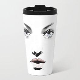 Fashion Illustration - Barbara Travel Mug