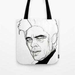 Benicio Del Toro Tote Bag