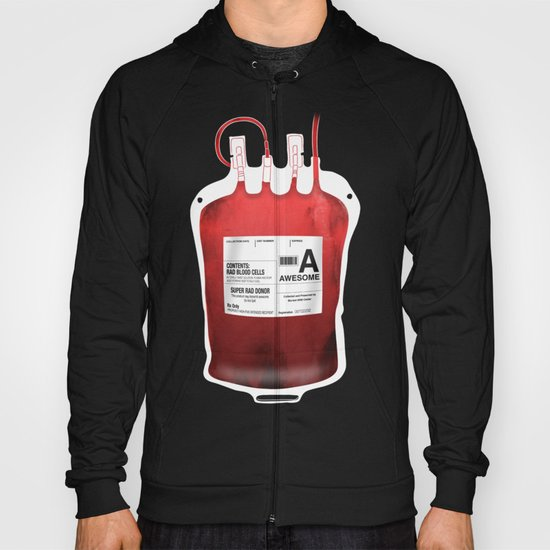 My Blood Type is A, for Awesome! *Classic* Hoody
