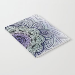 Mandala Violet Notebook