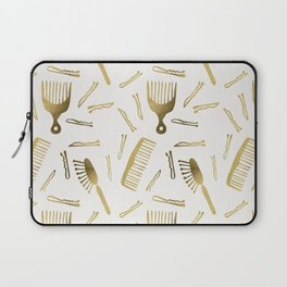 Good Hair Day – Gold Palette Laptop Sleeve