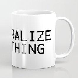 Decentralize Everything Coffee Mug