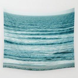 Ocean Ripples Wall Tapestry