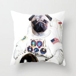 Astro Phil Throw Pillow
