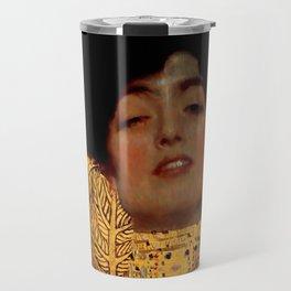 """Gustav Klimt """"Judith I"""", 1901 Travel Mug"""