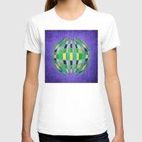 globe T-shirts featuring globe by Katilinova