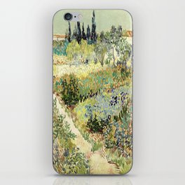 Vincent Van Gogh : Garden at Arles iPhone Skin
