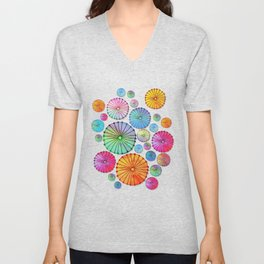 Coctail Umbrellas - Summer Memories Unisex V-Neck