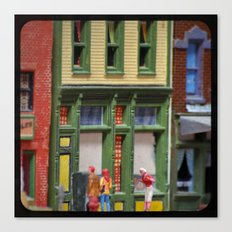 Oh, Hello! Small Town Downtown  Canvas Print