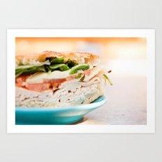 Lunch Art Print
