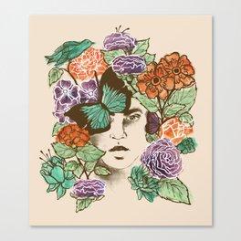 Brianna's Garden Canvas Print