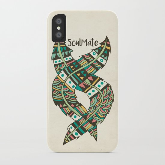 Soulmate Feathers iPhone Case